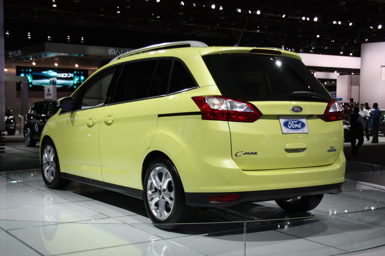 2012 ford c max detroit 2011 photo gallery autoblog. Black Bedroom Furniture Sets. Home Design Ideas