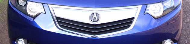 Acura grille