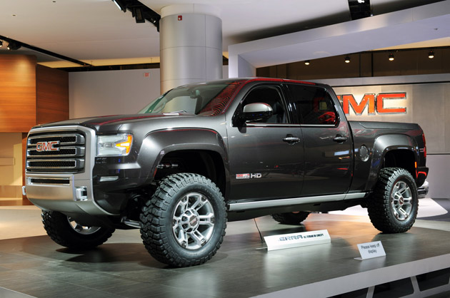 GMC Sierra All Terrain HD Concept - Click above for high-res image