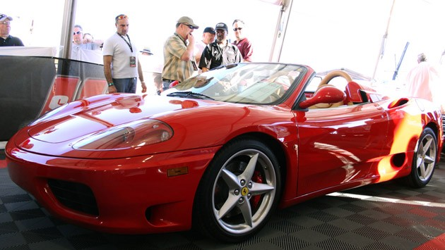 2002 Ferrari 360 Modena F1 Spider at Barrett-Jackson 2011
