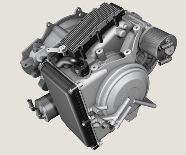 ZF Nine-speed transmission