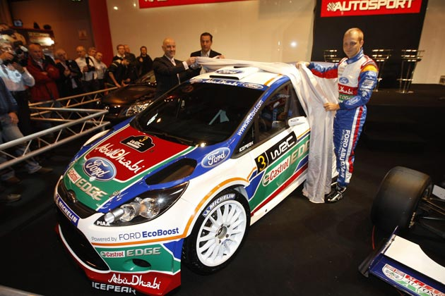 2011 Ford Fiesta RS WRC car livery unveiled