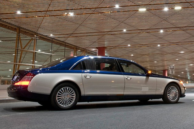 2011 Maybach range