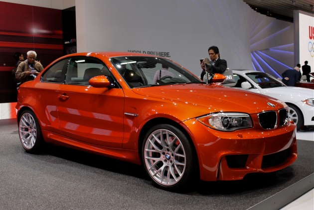 detroit 2011 2012 bmw 1 series m coupe revs its beating heart. Black Bedroom Furniture Sets. Home Design Ideas
