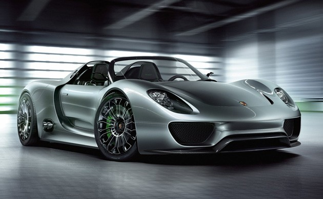 Barrier Porsche limited production 918 porsche spyder