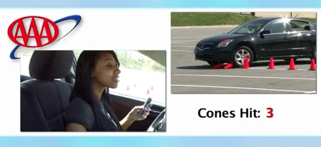aaa texting and driving video