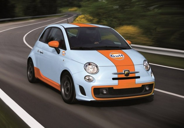 Fiat Abarth 500 EsseEsse Gulf Edition
