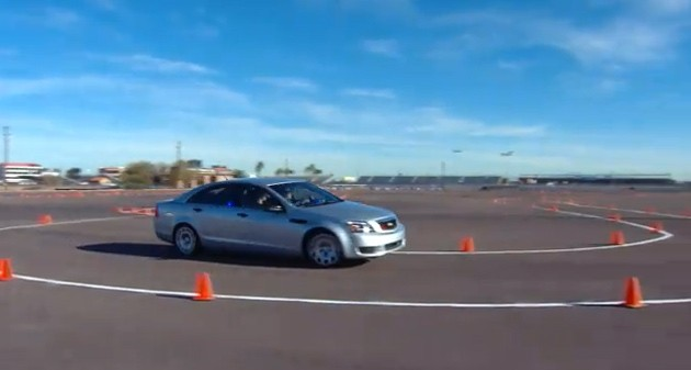 Chevy Caprice Arizona police test