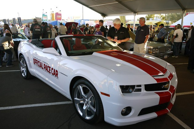 2011 Chevrolet Camaro Convertible Indy 500 Pace Car at Barrett-Jackson 2011