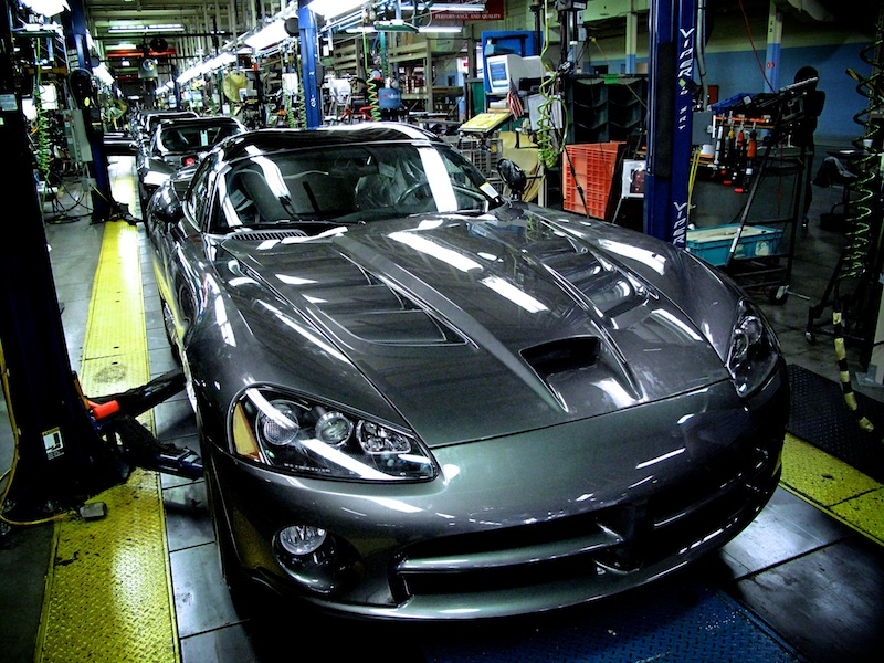 Dodge Viper assembly