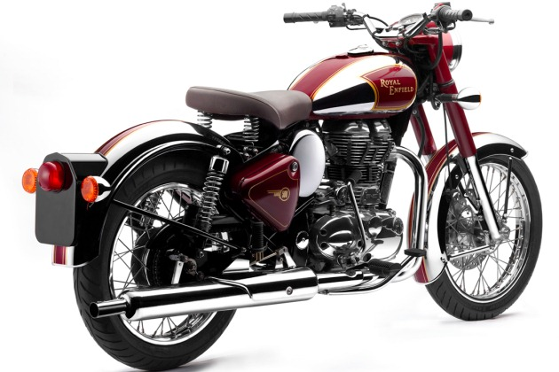 enfield chrome Royal Enfield shows off two new Classic Chrome and Bullet for U.S.