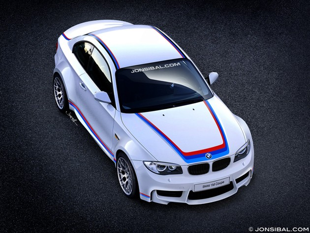 2012 BMW 1 Series M Coupe rendered by Jon Sibal