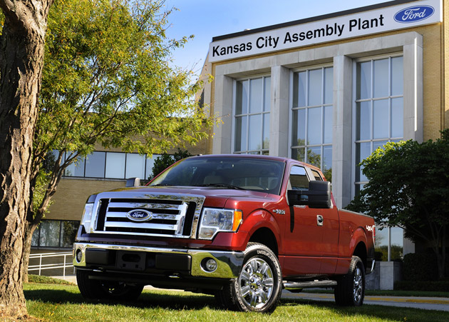 2009 Ford F-150 at Kansas City Assembly Plant