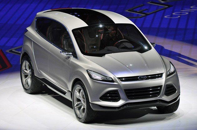 Ford Vertrek Concept Kuga Escape Replacement