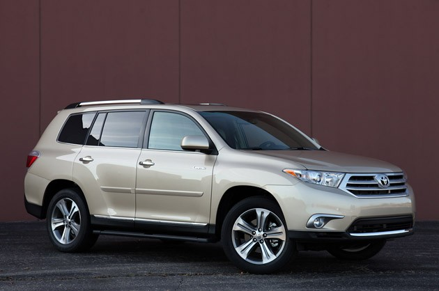 toyota highlander export