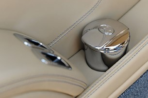 2011 Bentley Mulsanne rear seat ash tray