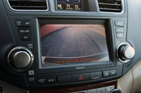 2011 Toyota Highlander backup camera view