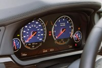 2011 BMW Alpina B7 gauges
