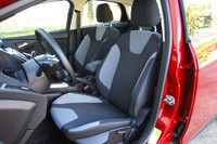 2012 Ford Focus front seats