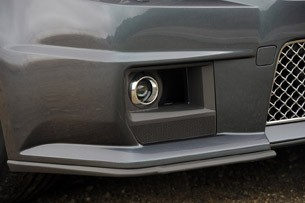 2011 Cadillac CTS-V Coupe fog light
