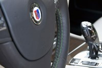 2011 BMW Alpina B7 steering wheel