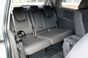 2011 Honda Odyssey third row