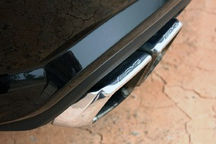 2012 Mercedes-Benz CLS63 AMG exhaust system