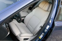 2011 BMW Alpina B7 front seats