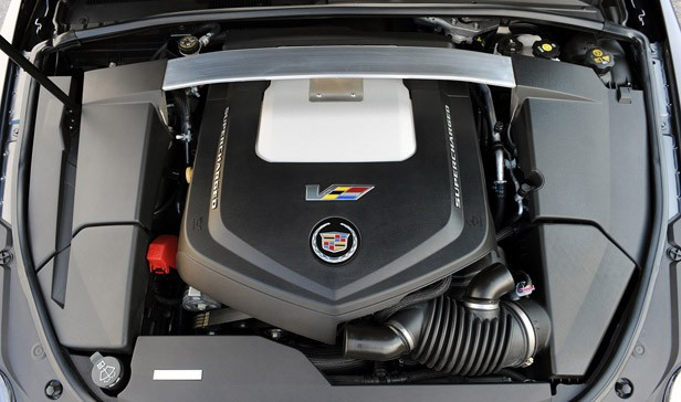 2011 Cadillac CTS-V Coupe engine