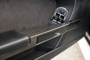 2011 Aston Martin V12 Vantage carbon fiber door trim