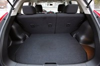 2011 Nissan Juke rear cargo area