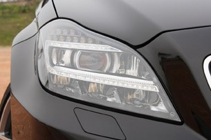 2012 Mercedes-Benz CLS63 AMG headlight