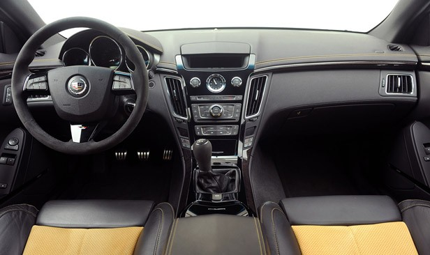 2011 Cadillac CTS-V Coupe interior