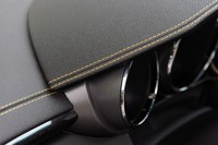 2011 Cadillac CTS-V Coupe dash stitching