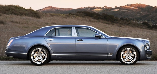 2011 Bentley Mulsanne side view