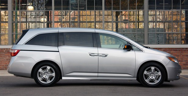2011 Honda Odyssey side view