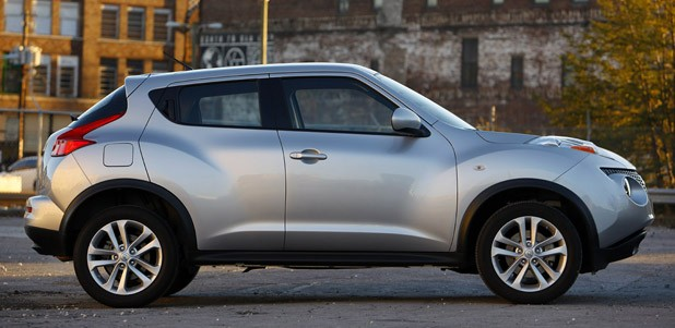 2011 Nissan Juke side view