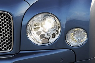 2011 Bentley Mulsanne headlight