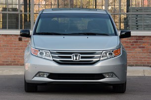 2011 Honda Odyssey front view