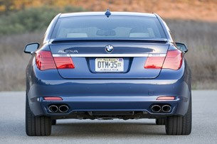 2011 BMW Alpina B7 rear view
