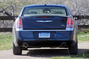2011 Chrysler 300 rear view