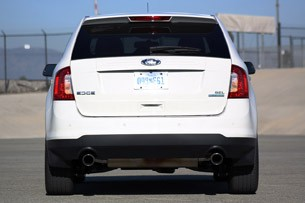 2011 Ford Edge EcoBoost rear view
