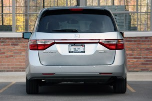 2011 Honda Odyssey rear view