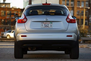 2011 Nissan Juke rear view