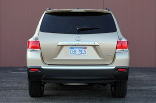 2011 Toyota Highlander rear view