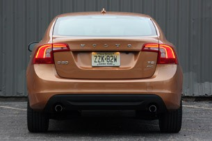 2011 Volvo S60 rear view