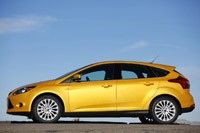 2012 Ford Focus side view