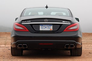 2012 Mercedes-Benz CLS63 AMG rear view