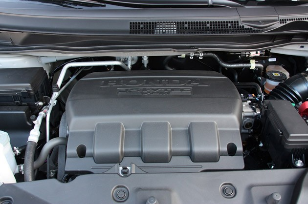 2011 Honda Odyssey engine