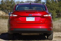 2012 Ford Focus rear view
